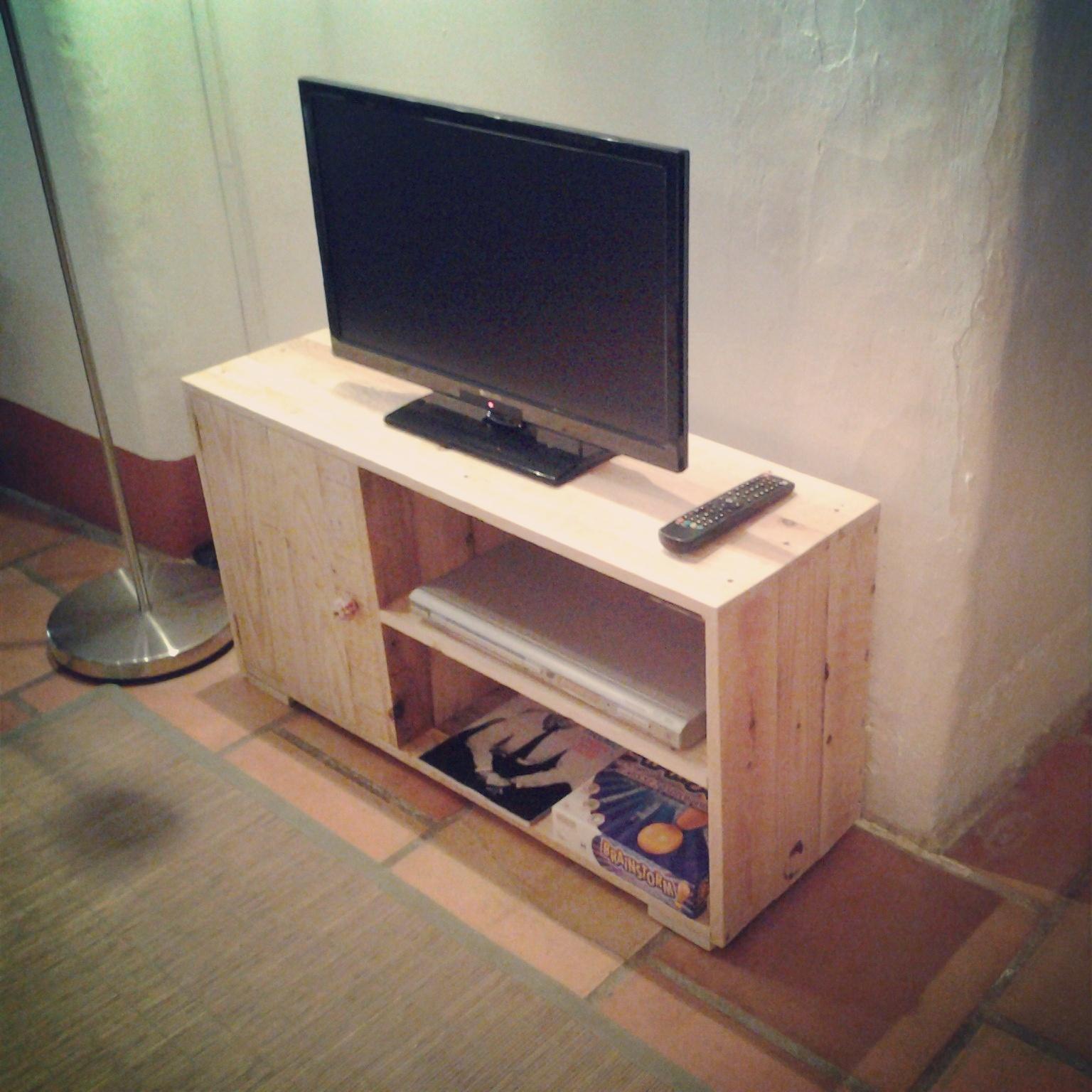 Meuble Tele En Palette : Meubles Télé – Palette & Co