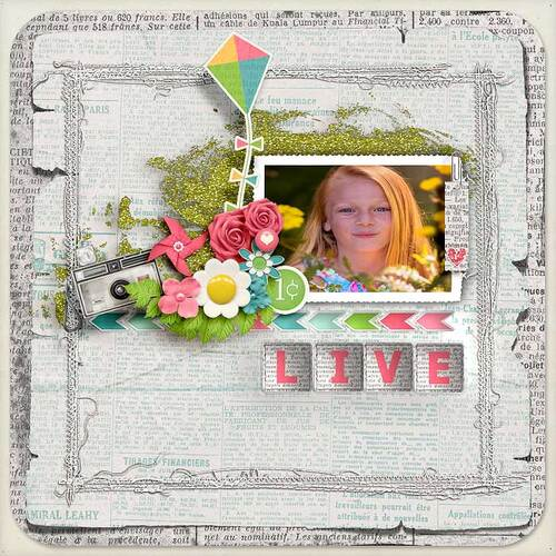 Spring News by dentelle scrap