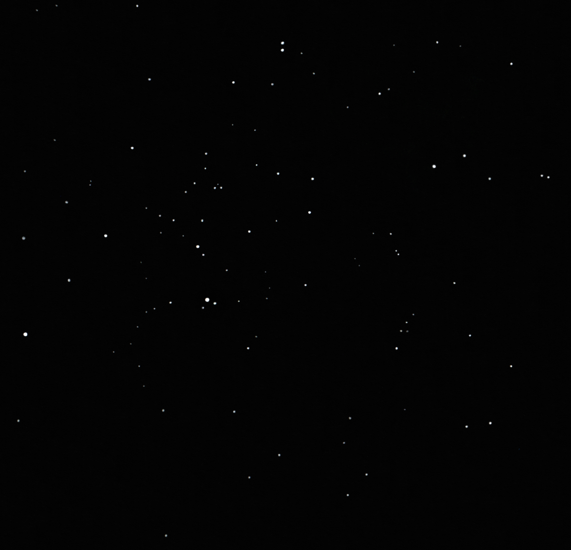 ngc 752 open cluster