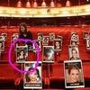 BAFTA Award, emplacement des stars
