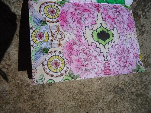 Coloriage anti-stress - cahier instant de sérénité