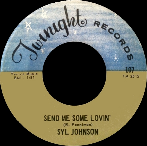 "Syl Johnson : Album "" Dresses Too Short "" Twinight Records LPS 1001 [ US ]"