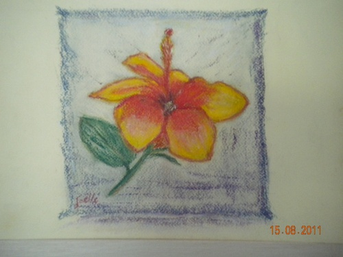 fleur exotique -paste sec joelle