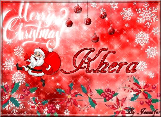 Mes cartes de voeux pour Khera