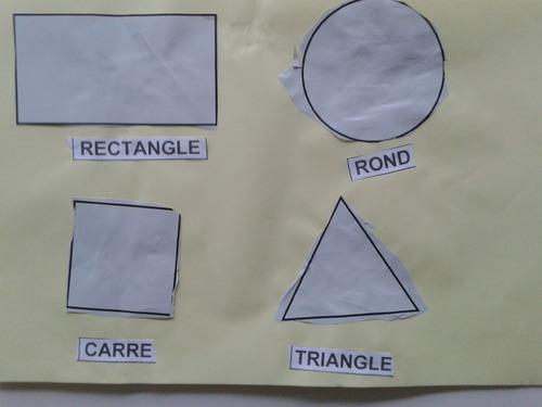 A la découverte des formes géométriques