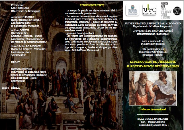 Colloque international Italie