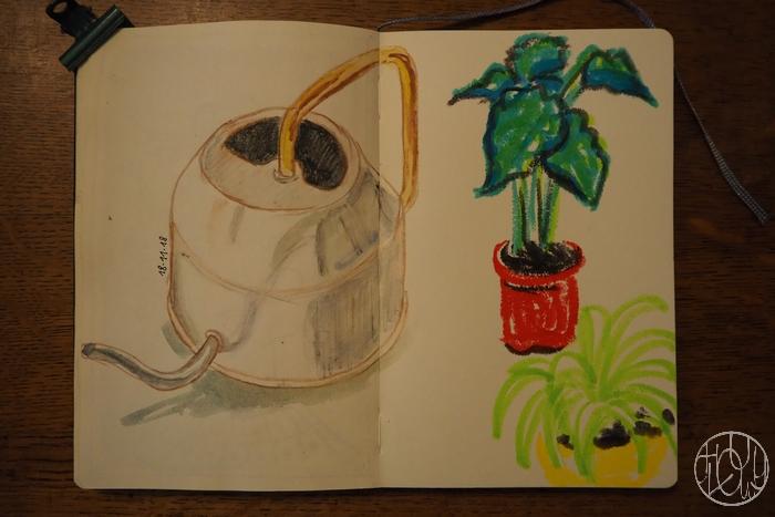 Patouille n°11 : la gouache en stick