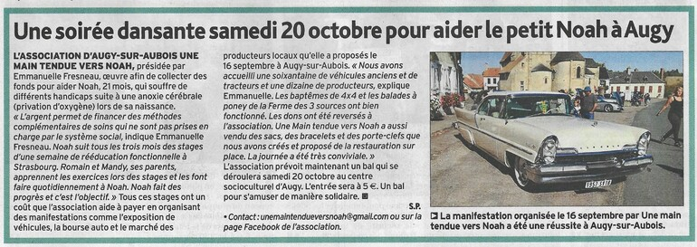 L'Echo du Berry du 20/0918