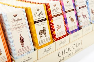 SAPIDUS présente DOLFIN, le chocolat créatif belge