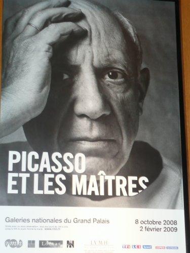 Dimanche 21 décembre 2008, journée à Paris avec la visite de l'expo Picasso et les Maîtres