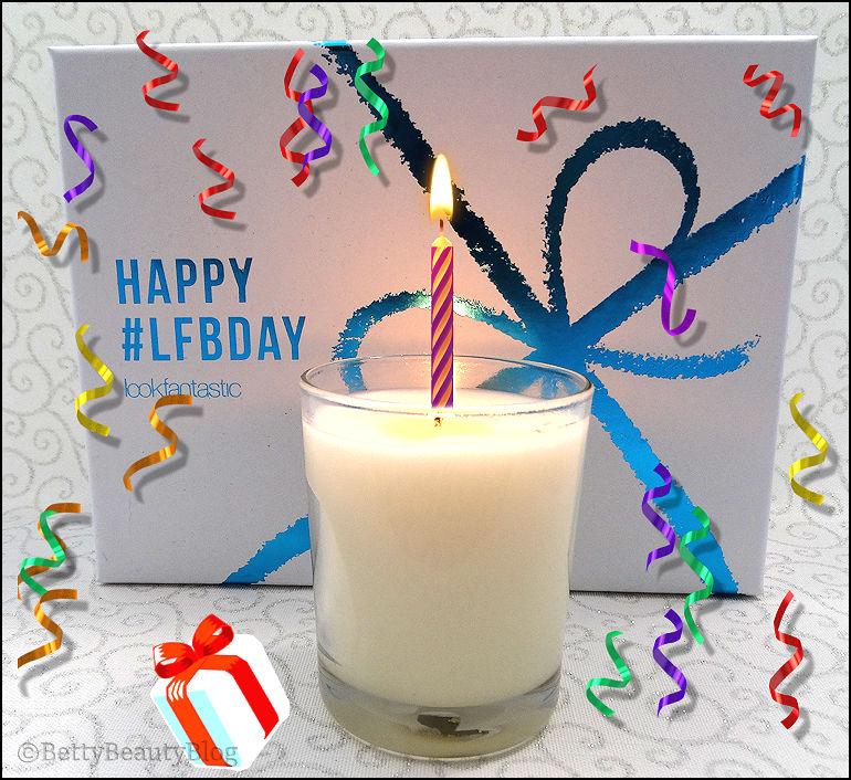 Joyeux anniversaire Lookfantastic box !