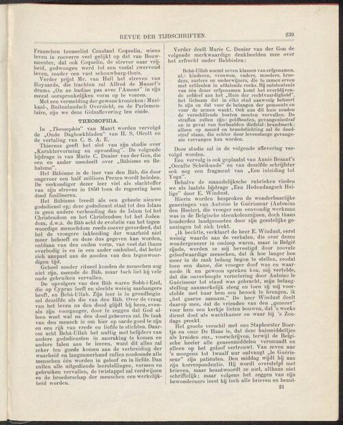 De Hollandsche revue jrg 14, 1909, no 3, 23-03-1909