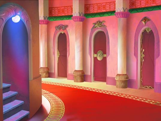 Corridor des gardes