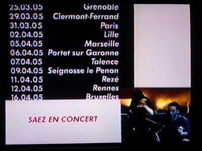 Vendredi 12 novembre 2004 sur canal+ à 18h30 (7/7)