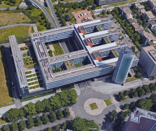Lille - Hôtel de Région des Hauts-de-France (Google 3D)