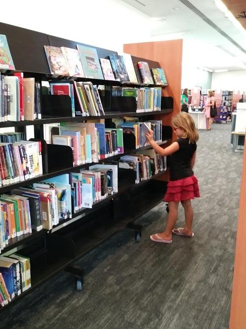 Une bibliothèque à Perth en Australie