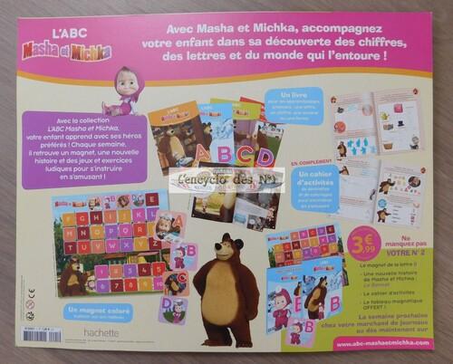 N° 1 L' ABC Masha et Michka - Lancement