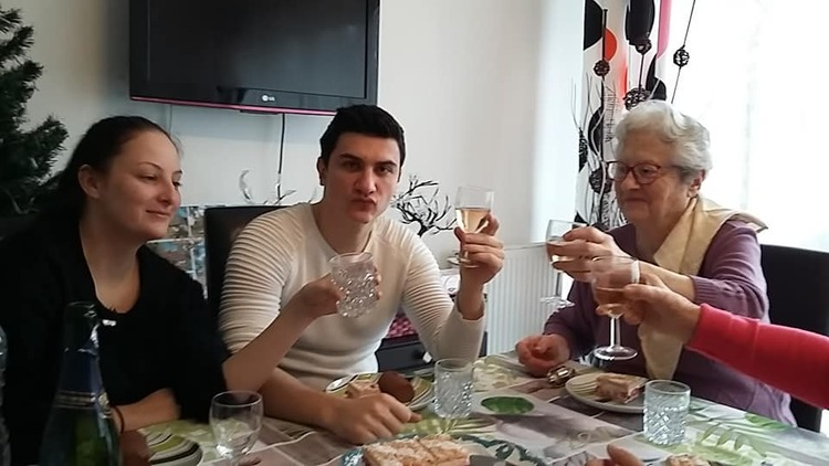 Repas anniversaire maman