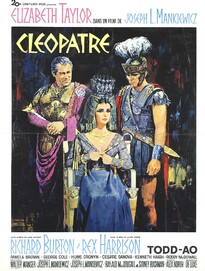 CLEOPATRE BOX OFFICE FRANCE 1963