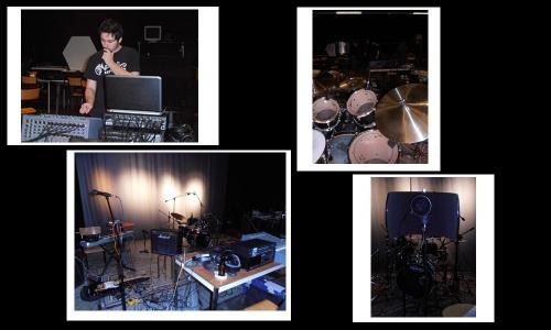 Enregistrement de la maquette - Février 2012