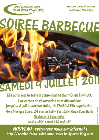 Affiche Barbecue 2011
