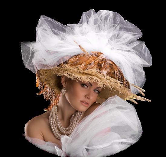 Femmes à chapeaux