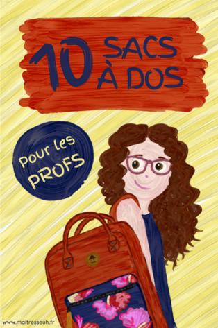 10 sacs à dos au top pour les profs