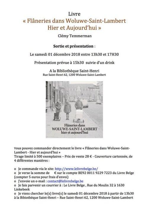 Woluwe-Saint-Lambert : Un livre qui nous ramène au 20ème siècle