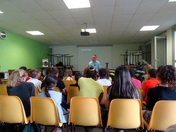 """Une passionnante """"Journée Sécurité"""" pour les élèves de 6ème du Collège Fontaine des Ducs"""