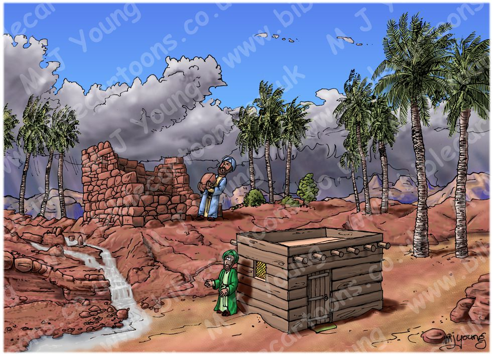 Matthew 07 - Parable of wise and foolish builders - Scene 03 - Foolish man finished