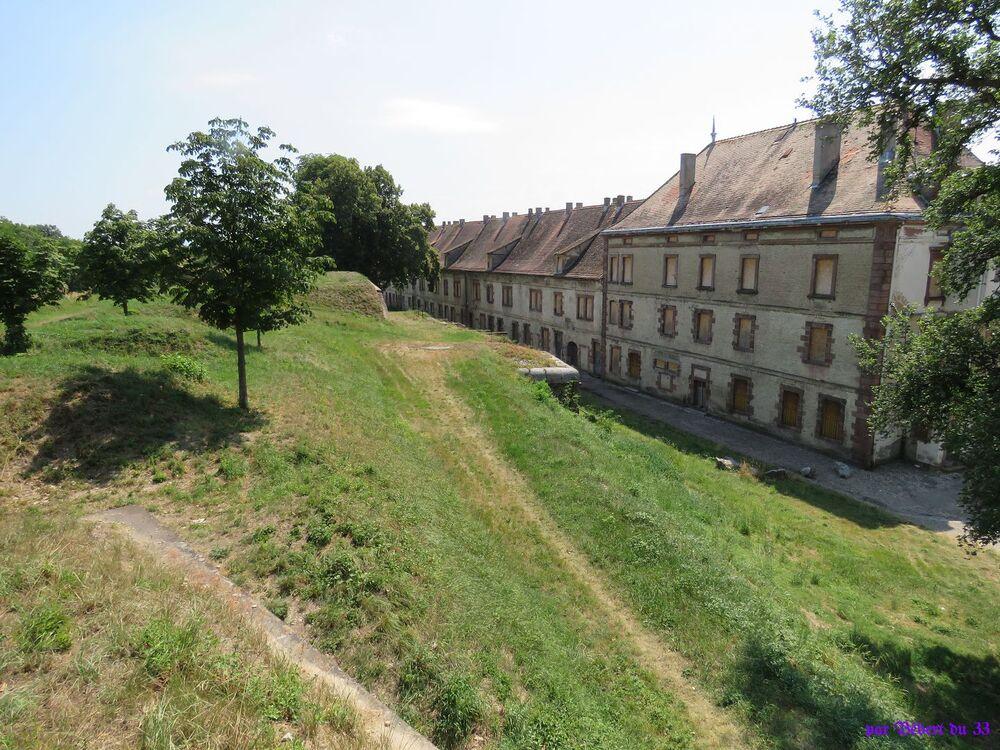 Neuf Brisach dans le Haut-Rhin