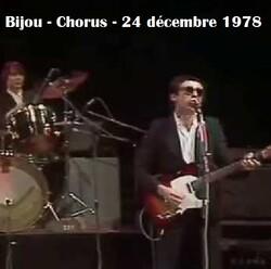 Flash d'été n° 1: Bijou - Chorus - Théâtre de l'Empire - 24 décembre 1978