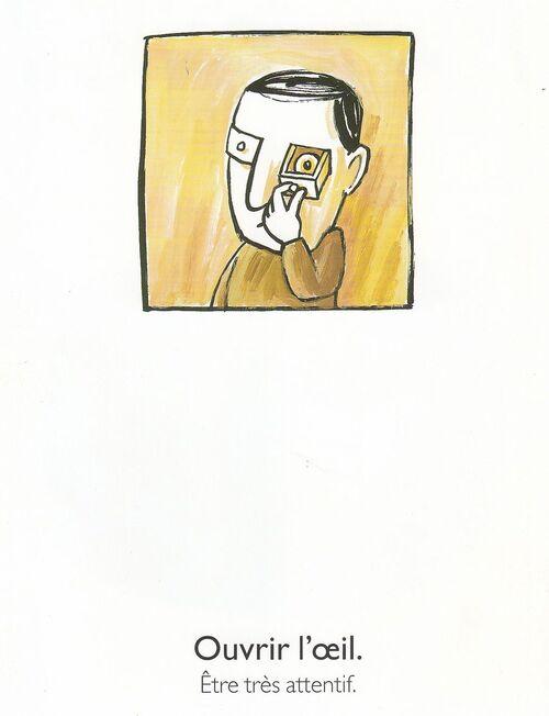 """Travail sur les expressions au sens figuré à partir de l'album """"Mon oeil"""" de Mario Ramos"""