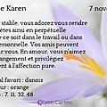 Sainte karen - 7 novembre 2014