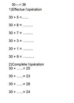 numération, lesnombres au cp, ce1,  ce2 et cycle 1