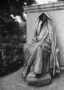 Augustus Saint-Gaudens sculpture in Rock Creek Cemetery