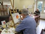 Atelier libre - Peinture sur porcelaine - Vendredi matin