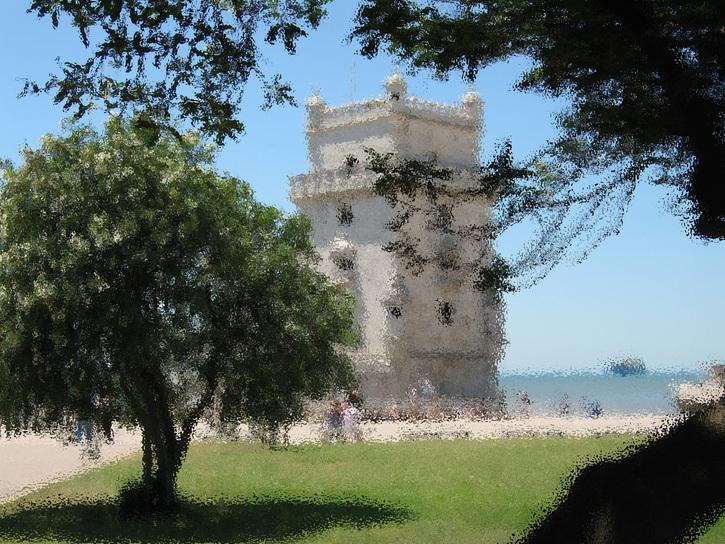 Portugal:  Lisbonne - La Tour de Bélem - de Philippe