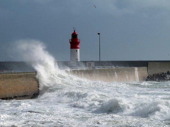 Les grosses vagues