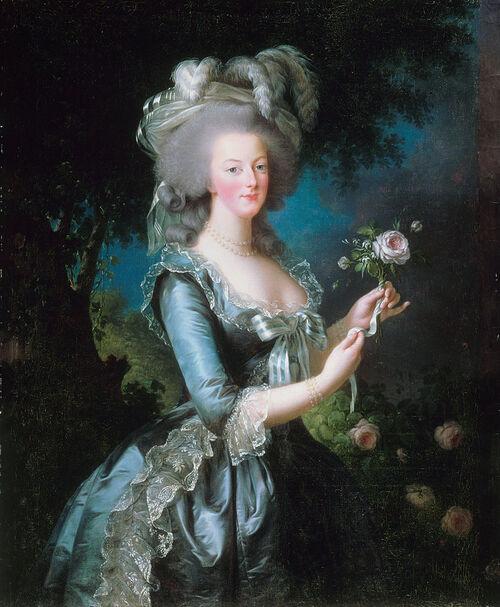 Le souvenir de Marie-Antoinette...