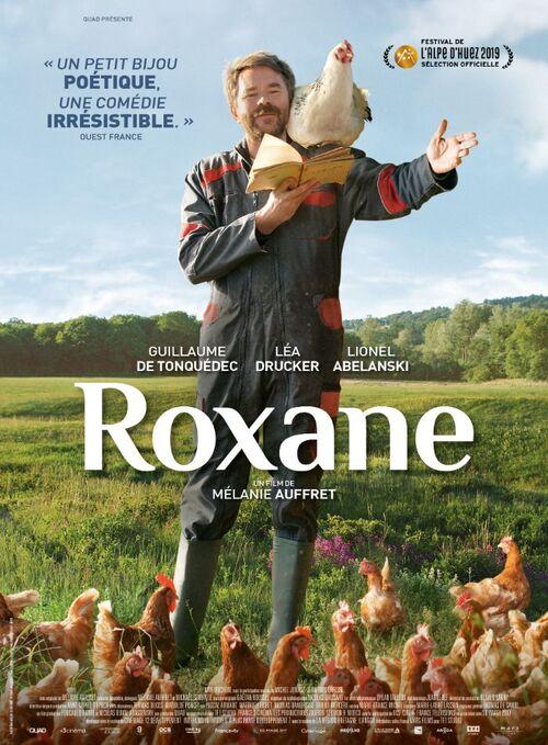 ROXANE de Mélanie Auffret avec Guillaume de Tonquédec, Léa Drucker et Lionel Abelanski : l'affiche dévoilée