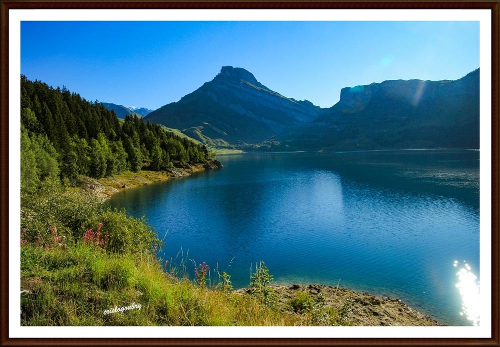 autour du lac de Roselend