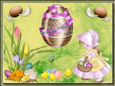 De Très Bonne Fêtes De Pâques