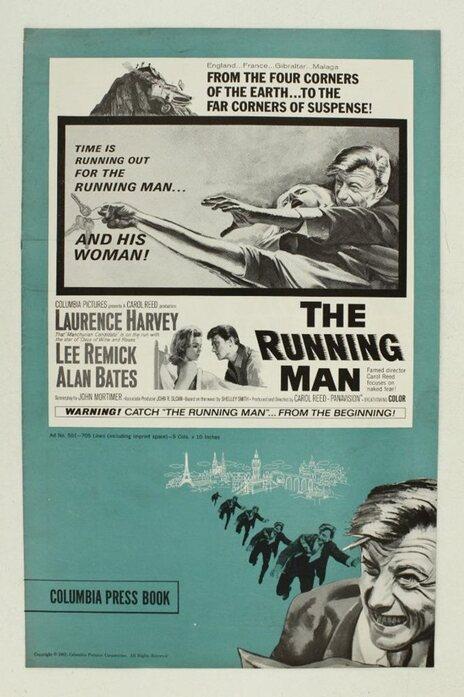 THE RUNNING MAN BOX OFFICE USA 1963
