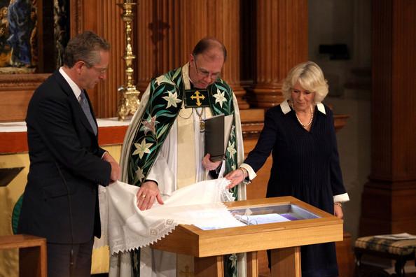 Camilla à l'église