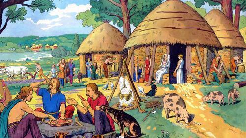 La vie des Gaulois et le début de l'Antiquité