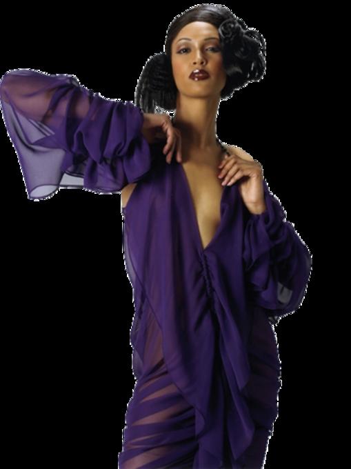 Femmes en Violet-Mauve Série 8