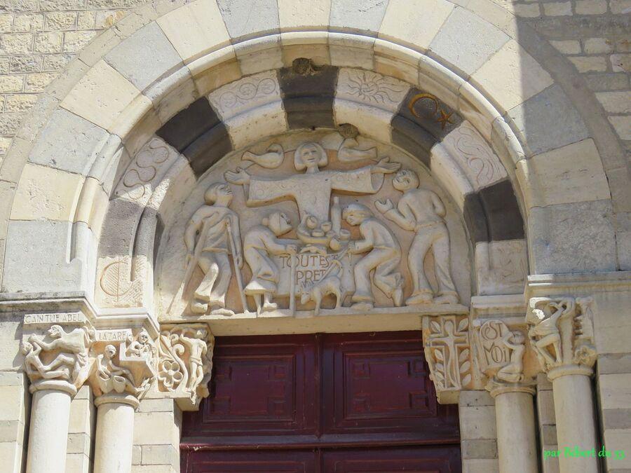 l'église de Digoin (71)