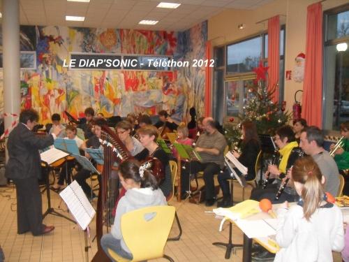 08/12/2012 : Animation musicale Petit déjeuner du TELETHON