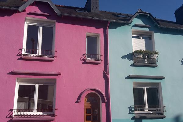 Brest - Maisons colorées